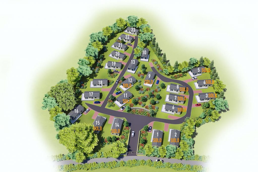 Site Plan - Units Sold