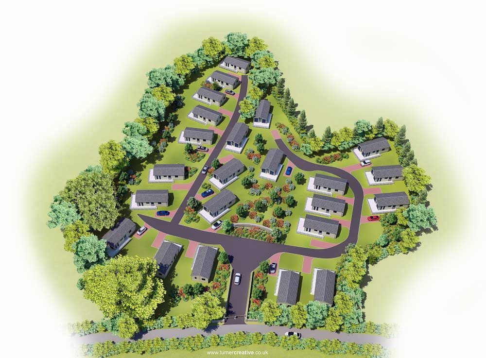 Dinham Creek Site Plan